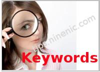 การใส่หัวเรือง (Title), เนื้อหาเว็บเพจอย่างย่อ (Description) และคำนิยาม (Keywords) ให้กับเว็บเพจ  ด้วยเว็บไซต์สำเร็จรูป - NineNIC